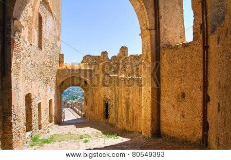 Swabian Castle of Rocca Imperiale. Calabria. Italy. poster