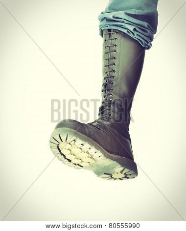 Stomping Boot - Vintage Processes