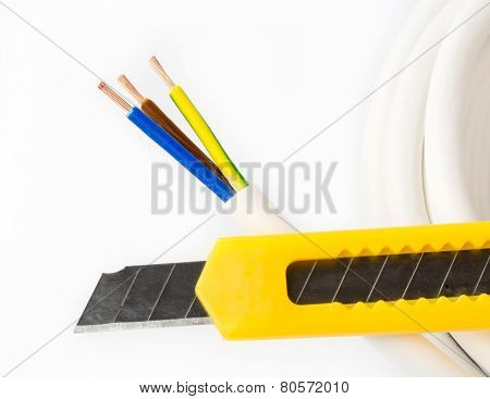 Power Cable And Knife