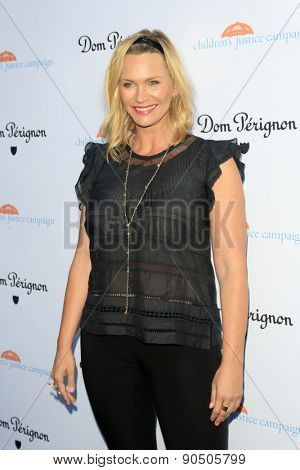 LOS ANGELES - MAY 12:  Natasha Henstridge at the Children's Justice Campaign Event at the Private Residence on May 12, 2015 in Beverly Hills, CA