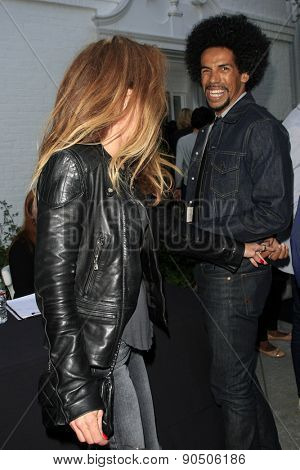 LOS ANGELES - MAY 12:  Gigi Levangie, Chris Elise at the Children's Justice Campaign Event at the Private Residence on May 12, 2015 in Beverly Hills, CA