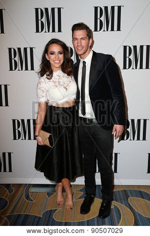 LOS ANGELES - MAY 12:  Aijia Grammer, Andy Grammer at the BMI Pop Music Awards at the Beverly Wilshire Hotel on May 12, 2015 in Beverly Hills, CA