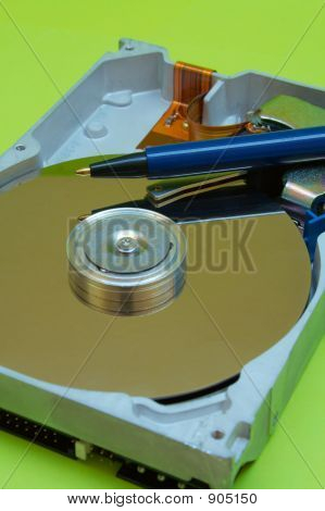 Hard Disk Drive - Pen Writing