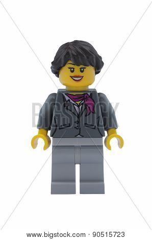 Woman Lego City Minifigure
