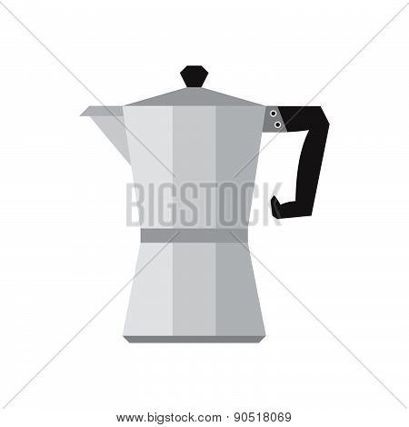 Coffee Percolator Vector Illustration