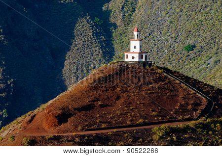 Church of Candelaria. El Hierro island. Canary Islands