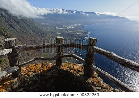 Aerial View of El Hierro. Canary Island. Spain