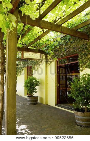 Yalumba Estate Winery, Located Near Angaston, South Australia In The Barossa Valley.