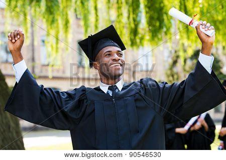 I Have Finally Graduated!