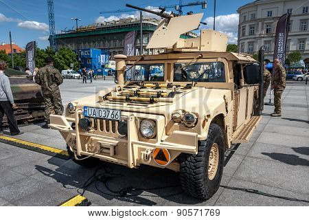 Humvee Hmmwv M1165 military vehicle