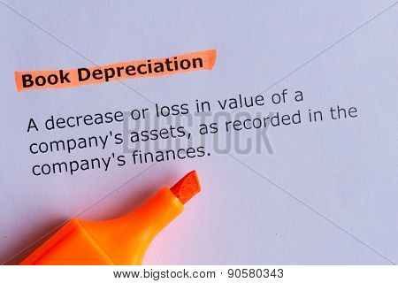 Book Depreciation
