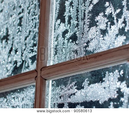 Frosty Window Ornament