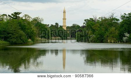 Tower of Minaret in the meander