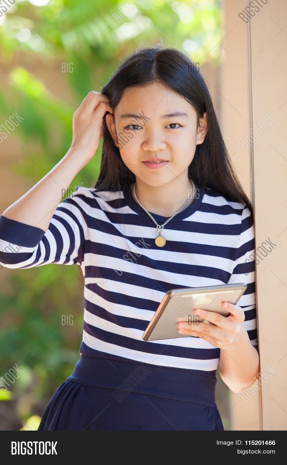 Portrait Asian Teen Image & Photo (Free Trial)