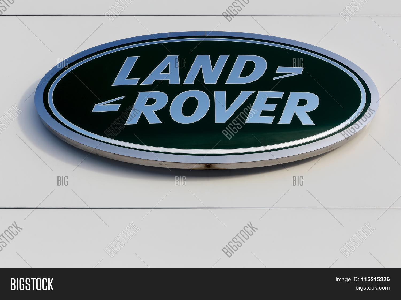 Land Rover Logo On Image Photo Free Trial Bigstock