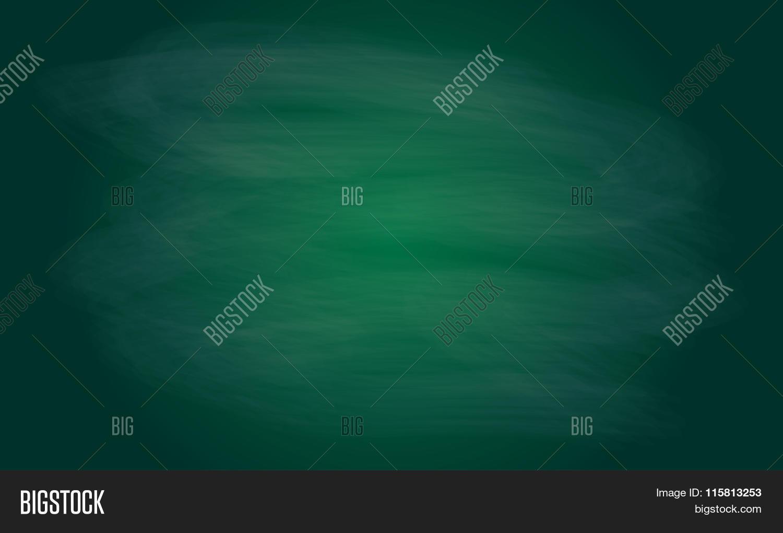 blackboard texture or background chalk rubbed out on green blackboard vector blank chalkboard
