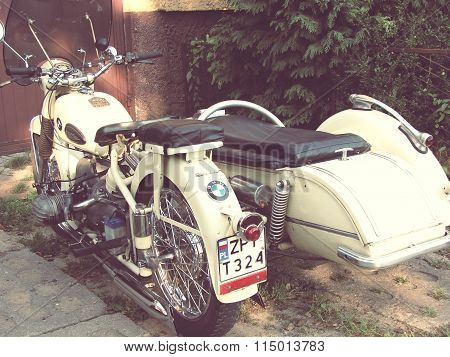 Antique motorcycle BMW R51/3