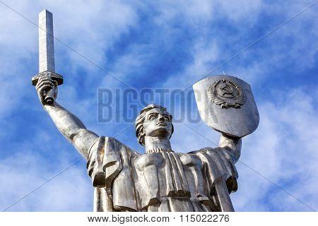 World War 2 Victory Rodina-mat Motherland Soviet Monument Great Patriotic War Museum Kiev Ukraine