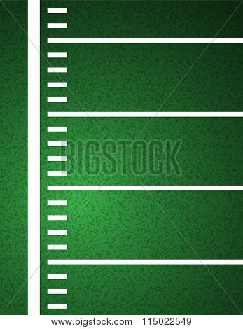 American Football Field Background Illustration