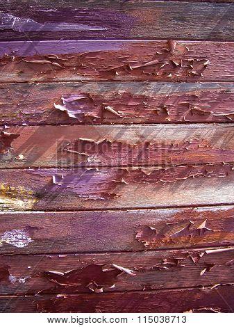 Peeling Paint On Wood