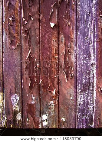 Grunge Paint On Wood