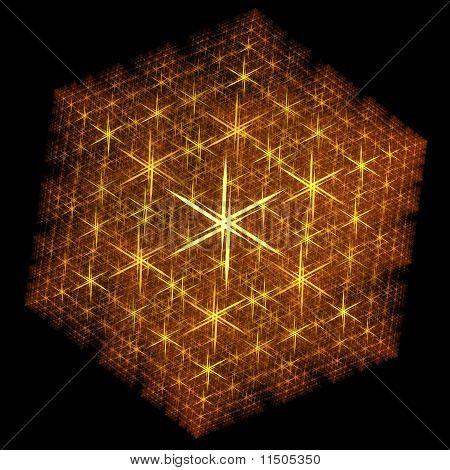Stylised Fractal Snowflake