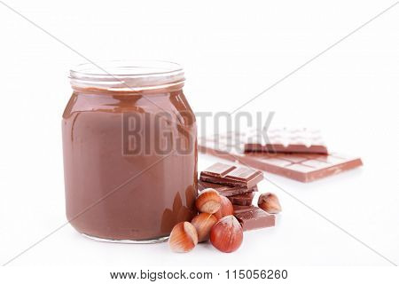 chocolate spread, nutella