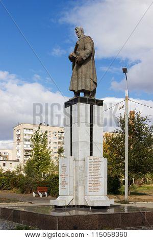 Common Grave Of Soldiers Of Division 308. Volgograd, Russia