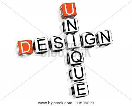 Uniqe design Crossword