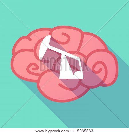 Long Shadow Brain With A Horsehead Pump