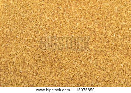 Crystals Brown Cane Sugar Background