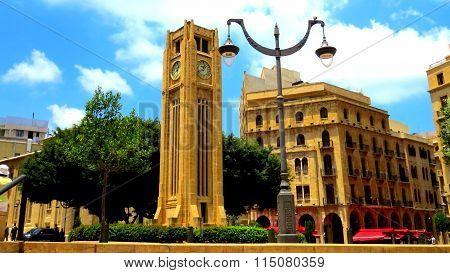 Clock Tower, Place de l'Etoile, Beirut