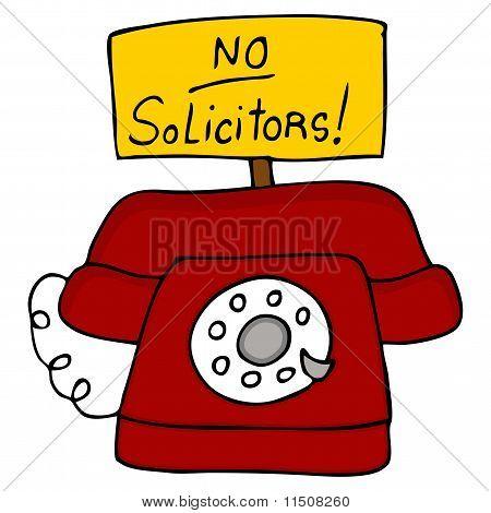No Solicitors Telephone