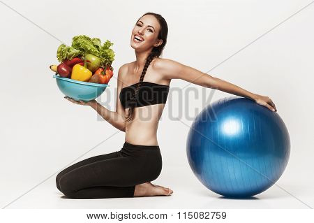 Young Attractive Woman Representing Healthy Lifestyle.