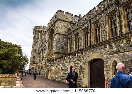 Medieval Windsor Castle