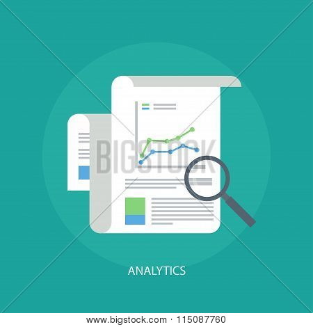 Analytics Concept Icons