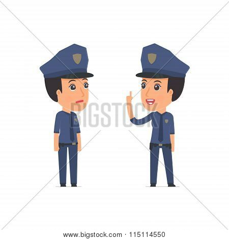 Intelligent Character Constabulary Learns And Gives Advice To His Friend