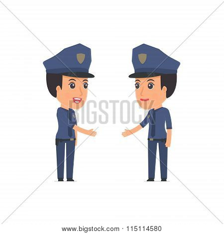 Intelligent Character Constabulary Concludes Business Contract With His Partner