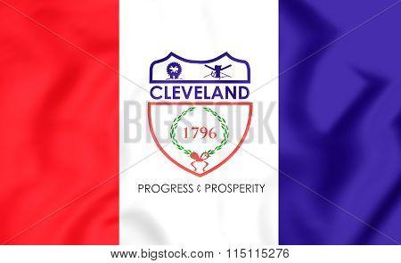 Flag Of Cleveland (ohio), Usa.