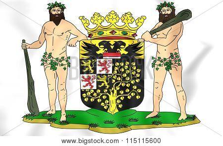 's-hertogenbosch Coat Of Arms (north Brabant), Netherlands.