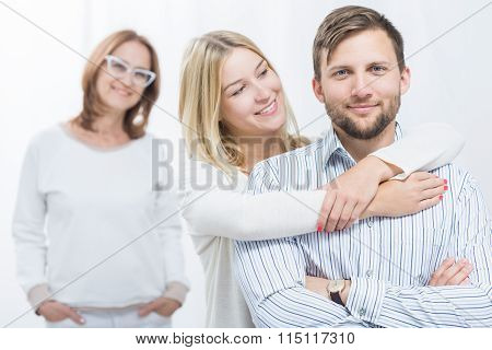 Good Mother And Happy Children