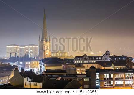 The City of Wakefield, West Yorkshire, UK