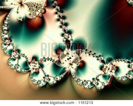 Romantic Diamond Valentine Background