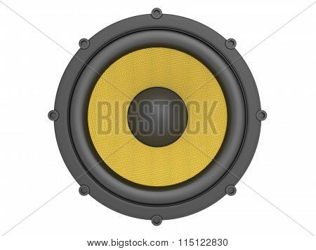 Speaker with kevlar membrane