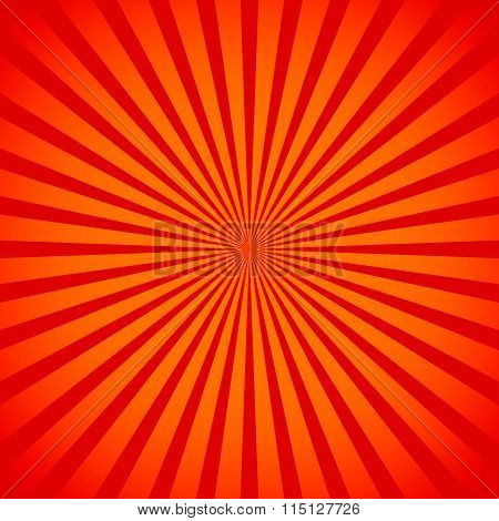 Starburst, Sunburst Background. Converging, Radiating Lines Abstract Vector.