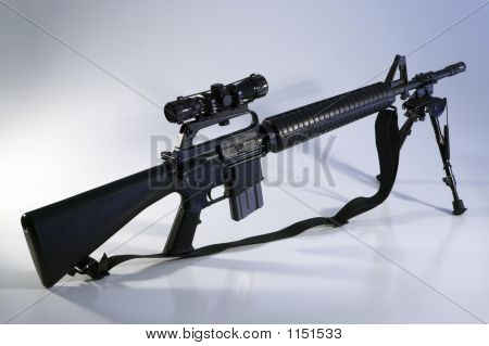 Ar-15 A2 Assault Rifle