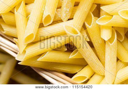 Maccheroni Pasta Closeup