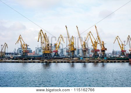 ?argo Cranes In The Port