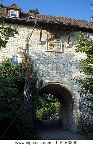Entrance Of Castle