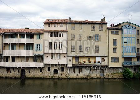 Houses By The Agout River